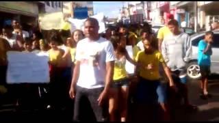 Flash Mob - Equipe Vermelha. C.M.C Os Pacificadores ❤️