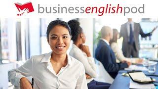 Business English: Meetings 1/2