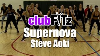 Supernova (Interstellar) by Steve Aoki | Club FITz Fitness Choreo by Lauren Fitz