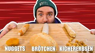 WILL IT WURST ? | Nuggets, Brötchen, Kichererbsen