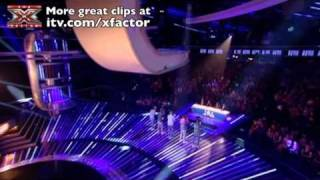 One Direction sing Nobody Knows - The X Factor Live show 3 - itv.com/xfactor