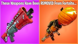 30 THINGS THAT HAVE BEEN REMOVED FROM FORTNITE