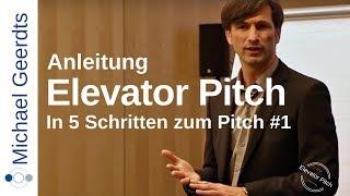 Elevator Pitch Anleitung: Wie Sie Ihren Pitch aufbauen #1