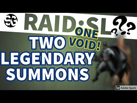 [RAID SHADOW LEGENDS] SUMMONS & TWO LEGOS! WHAT!!! WHAT!!