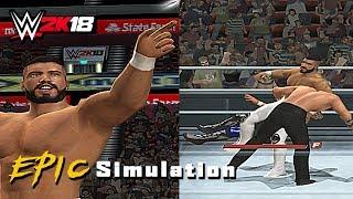WWE 2K18 PS2 Weekly Mods #1 : Andrade Cien Almas , Kenny Omega , Elias Samson