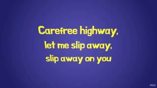 Carefree Highway | Gordon Lightfoot | Lyrics ☾☀