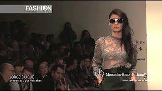 JORGE DUQUE Fall 2014 2015 Mexico - Fashion Channel