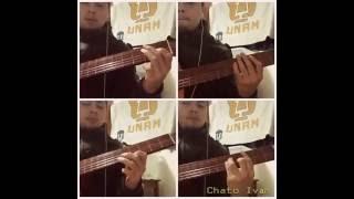 Base de guitarra Manu Chao - Mentira