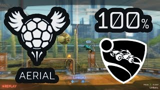 (ROCKET LEAGUE) Aerial Training - All-Star: 100%