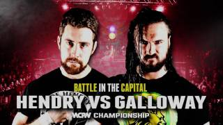 Drew Galloway vs Joe Hendry - Battle In The Capital