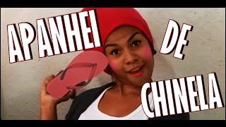 NÃO FAÇO IDEIA - APANHEI DE CHINELA ♪ ♫ (Paródia Baile de Favela)