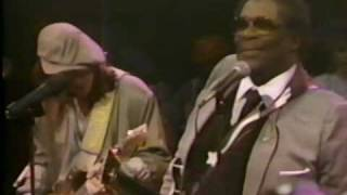 B.B.  KING, STEVIE RAY VAUGHAN SRV- In the Midnight Hour