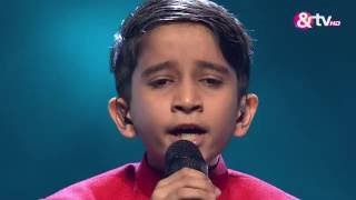 Vishwaprasad Ganagi - Abhi Mujh Mein Kahin - Liveshows - Episode 25 - The Voice India Kids