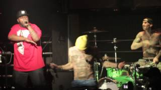 Travis Barker, Mix Master Mike, YelaWolf and Bun B Live in Houston at Rich's