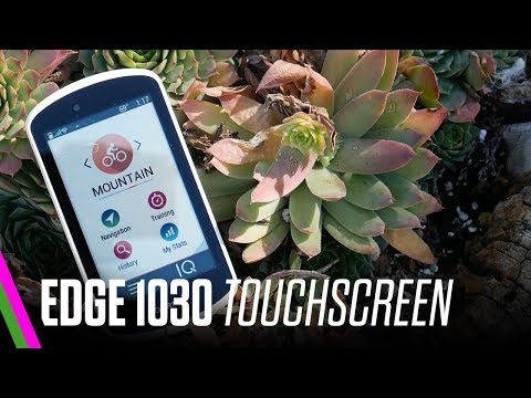 Garmin Edge 1030 Review Series: The Touchscreen - Does it suck?