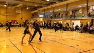 Tarjei Svalastog-Mathea Årestrup Øen. Jive, 1/2 finale. Norgesserie 1, 2016