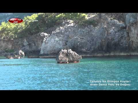 Ceneviz Ve Olimpos Koyları Arası Deniz Yolu Ve Doğası Genoese And Olimpos of the bays, maritime