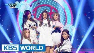 Red Velvet (레드벨벳) - Dumb Dumb [Music Bank HOT Stage / 2015.09.18]