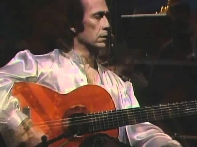 Vídeo del Concierto de Aranjuez de Paco de Lucía