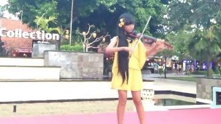 Dangerous - David Guetta (Violin Cover - Adinda Laksmi)