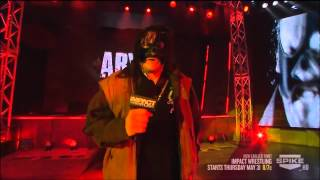 Abyss's Return to Impact Wrestling 2012