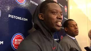 Pistons' Reggie Jackson uodates his recovery progress from ankle injury