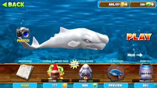 MOBY DICK !! NEW SHARK UPDATED ! - Hungry Shark Evolution