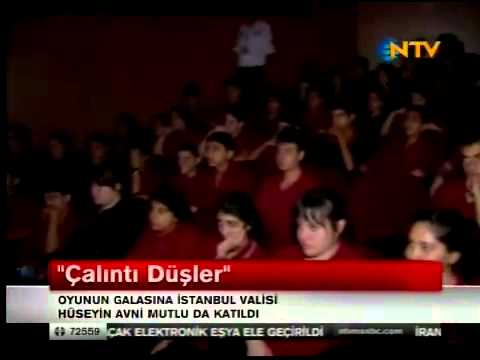 Üsküdar Gençlik Merkezi Çalıntı Düşler Oyunu Galası NTV