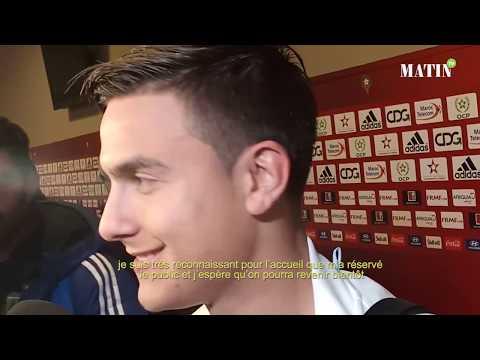 Video : Paulo Dybala remercie le public marocain pour son accueil