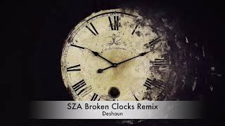 SZA Broken Clocks remix by Deshaun