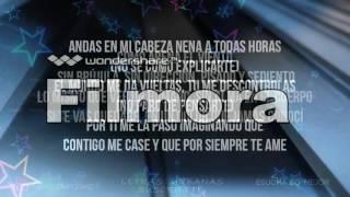 LETRA-LYRIC  Chino y Nacho - Andas En Mi Cabeza ft. Daddy Yankee