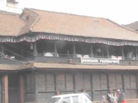 Nepal- Bhaktapur and Katmandu traffic