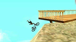 GTA San Andreas Funny Die (Fails in bike HD720p)