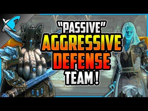 """PASSIVE AGGRESSIVE"" Tag Arena Team | Speed Meta Counter !! | RAID: Shadow Legends"