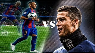 Neymar Jr vs Cristiano Ronaldo ● skills and goals 2017 and 2016 | HD