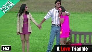 A Love Triangle - Movie Scene - Kuch Kuch Hota Hai - Shahrukh Khan, Kajol, Rani Mukerji width=