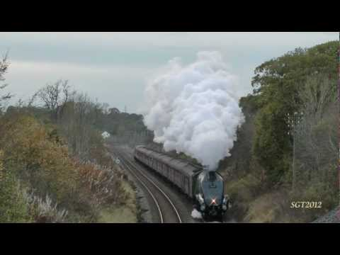 LNER A4 60009 The Hadrian 27/10/12.