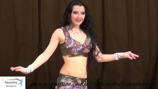 Alexandra Starodubova - Belly Dance (On Stage)