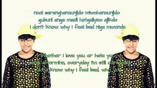 G-Dragon - Who You? (Lyrics Rom+Eng)