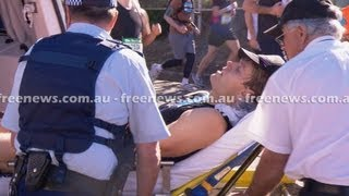 Bondi Vet, Dr Chris Brown rushed to hospital after collapsing in City2Surf race