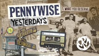 """Pennywise - """"What You Deserve"""" (Full Album Stream)"""