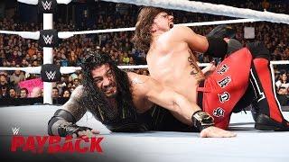 AJ Styles vs. Roman Reigns - WWE World Heavyweight Title Match: WWE Payback 2016 on WWE Network