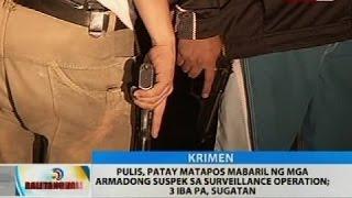 Pulis, patay matapos mabaril ng mga armadong suspek sa surveillance operation; 3 iba pa, sugatan