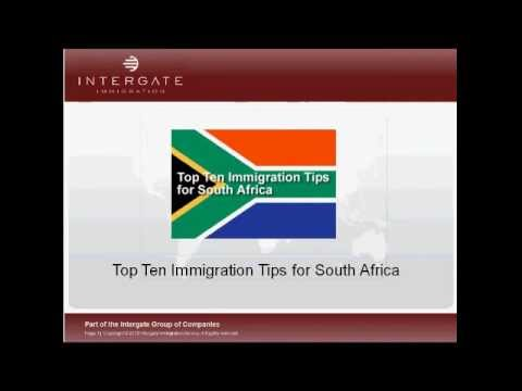 Immigration to South Africa