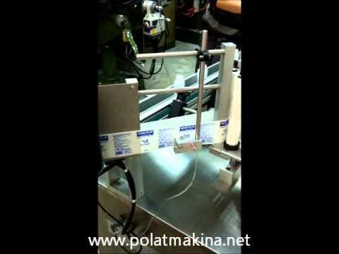 Polat Makina Yuvarlak Sarma Etiketleme Makinası ( HD )