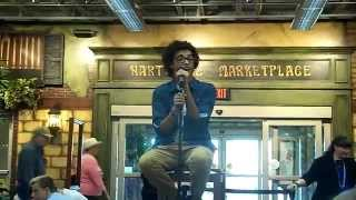"Jacob Rummell ""Introducing Me"" Cover at Heartville Market Place 4-18-15"