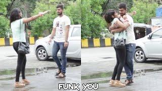 Girl giving a Hug Prank by Funk You width=
