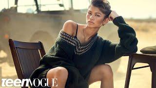 Go Behind the Scenes of Zendaya's Edgy Desert Cover Shoot—Teen Vogue