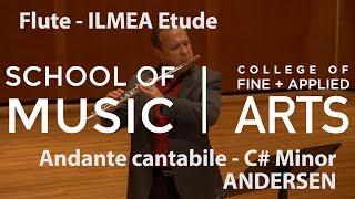 Professor Jonathan Keeble: ILMEA Flute - Andante cantabile in C# Minor - JOACHIM ANDERSEN
