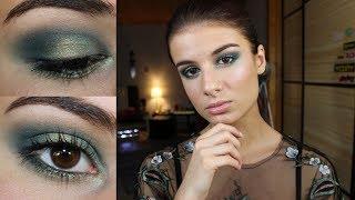 Maquillage pour les Fêtes : Smokey eyes vert ! 🎄